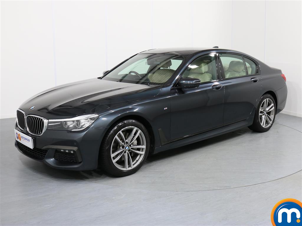 BMW 7 Series M Sport - Stock Number 1055685 Passenger side front corner