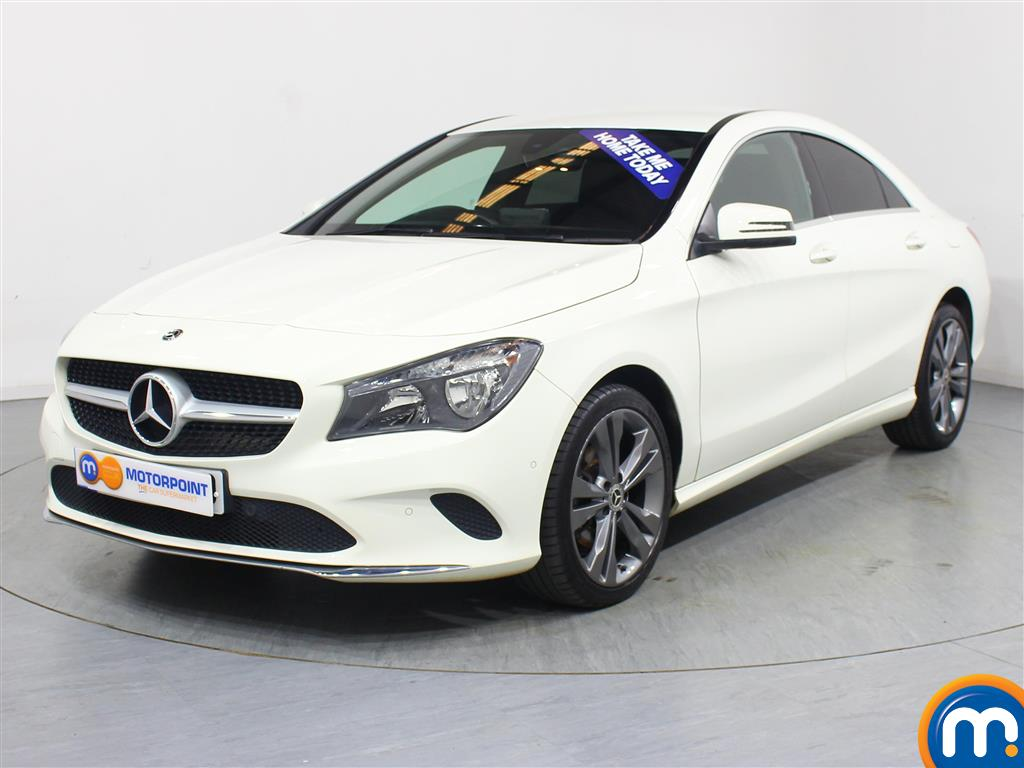 Mercedes-Benz Cla Class Sport - Stock Number 1057369 Passenger side front corner