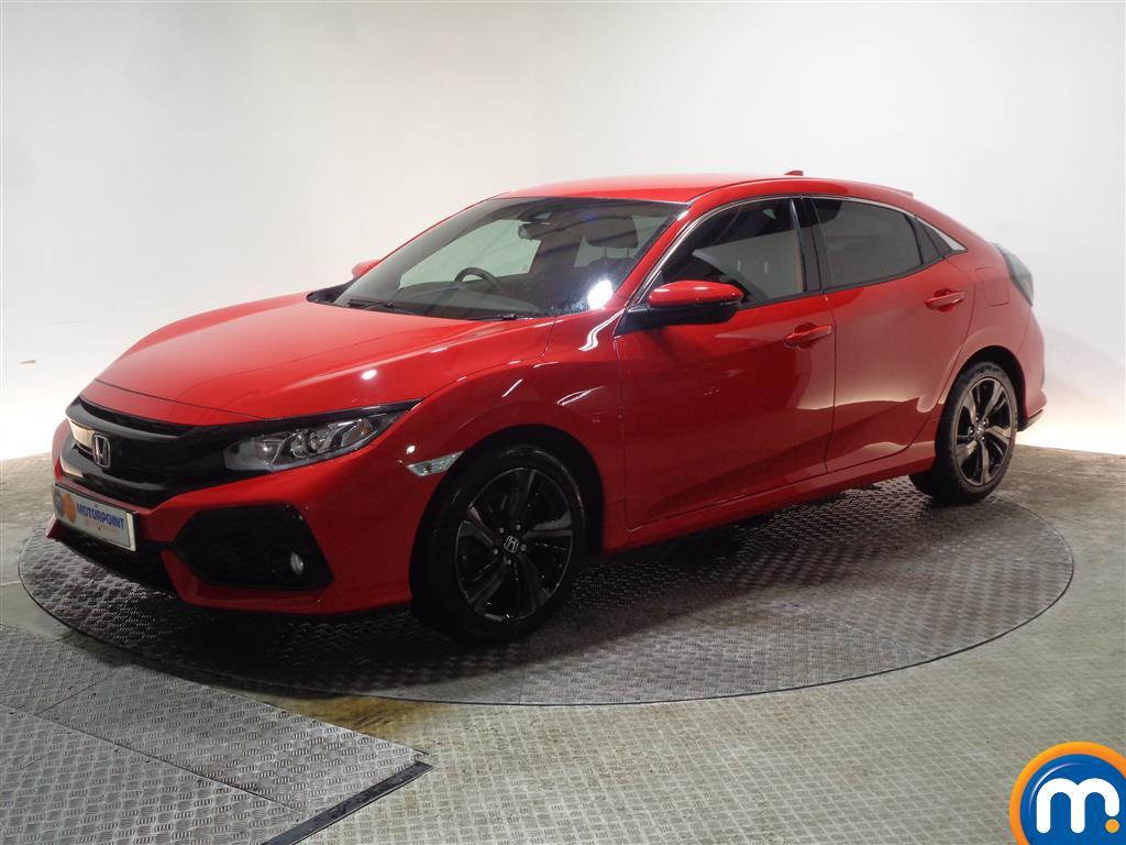 Honda Civic SR - Stock Number 1054531 Passenger side front corner