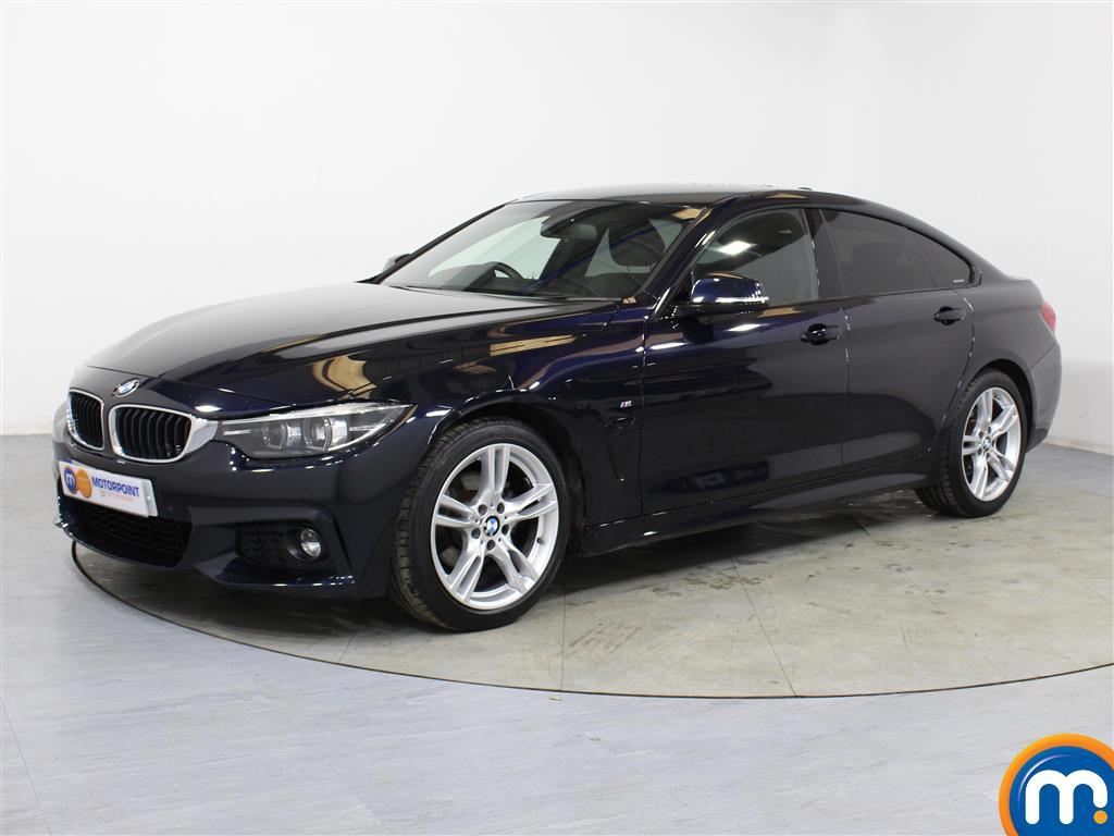 BMW 4 Series M Sport - Stock Number 1057975 Passenger side front corner