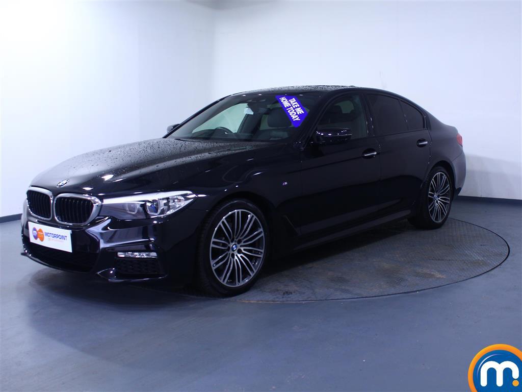 BMW 5 Series M Sport - Stock Number 1058260 Passenger side front corner