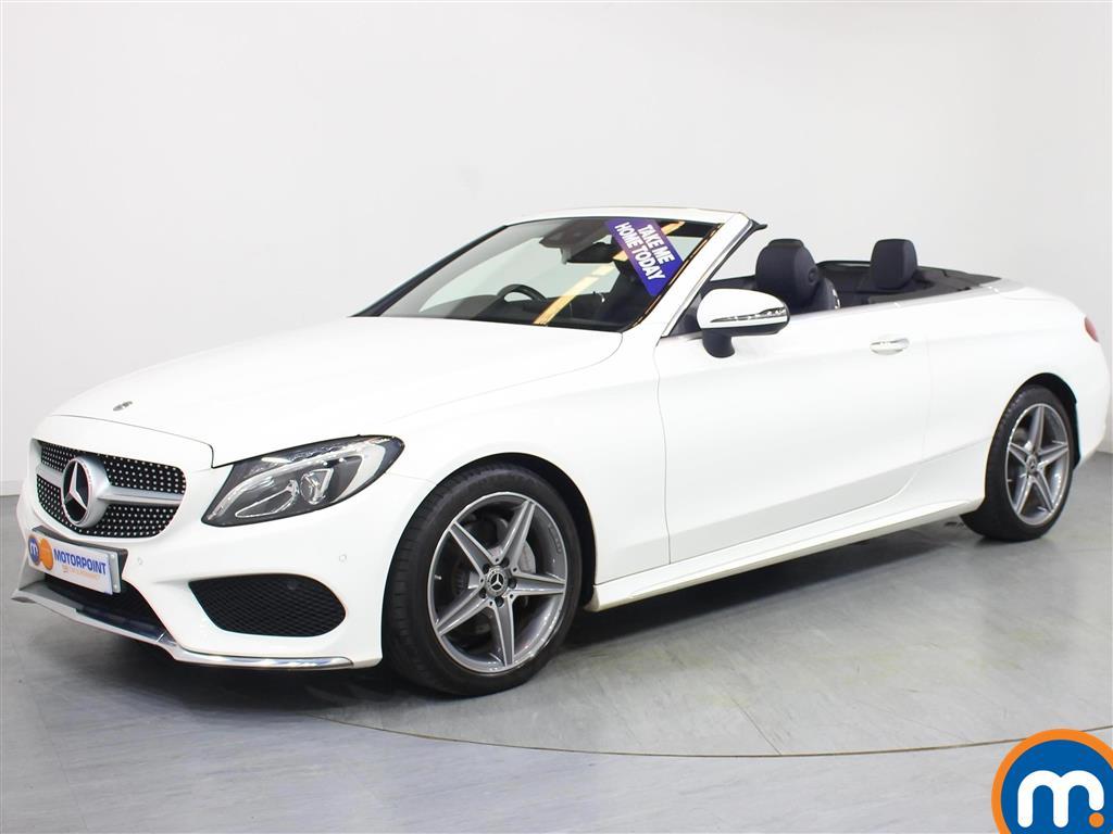 Mercedes-Benz C Class AMG Line - Stock Number 1057133 Passenger side front corner