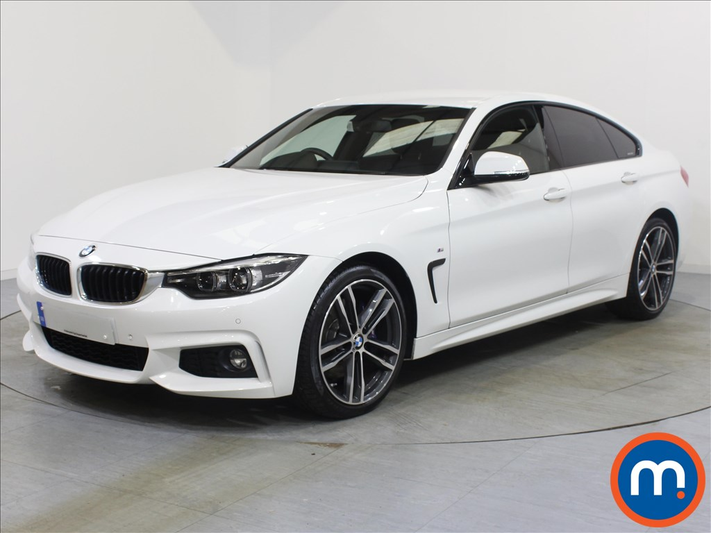 BMW 4 Series M Sport - Stock Number 1058443 Passenger side front corner
