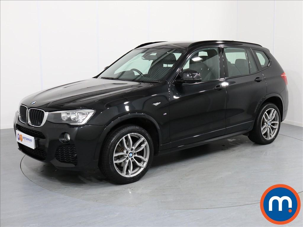 BMW X3 M Sport - Stock Number 1058266 Passenger side front corner