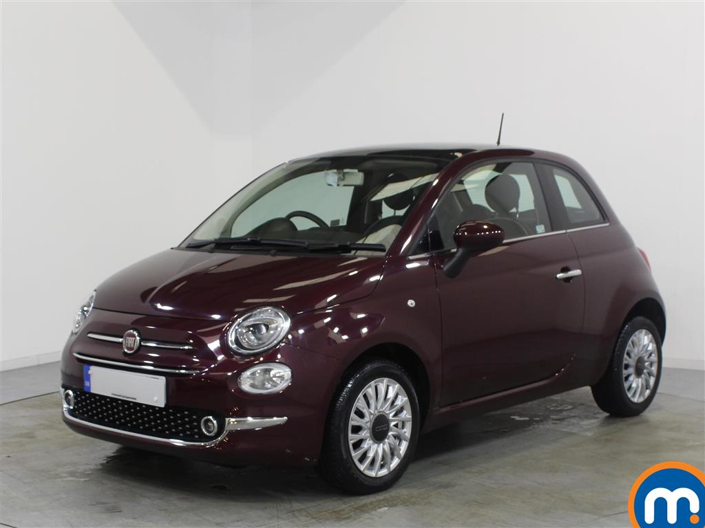 Fiat 500 Lounge - Stock Number 1057788 Passenger side front corner