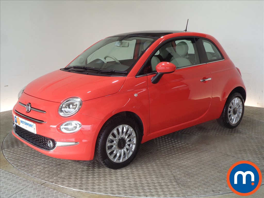 Fiat 500 Lounge - Stock Number 1050781 Passenger side front corner