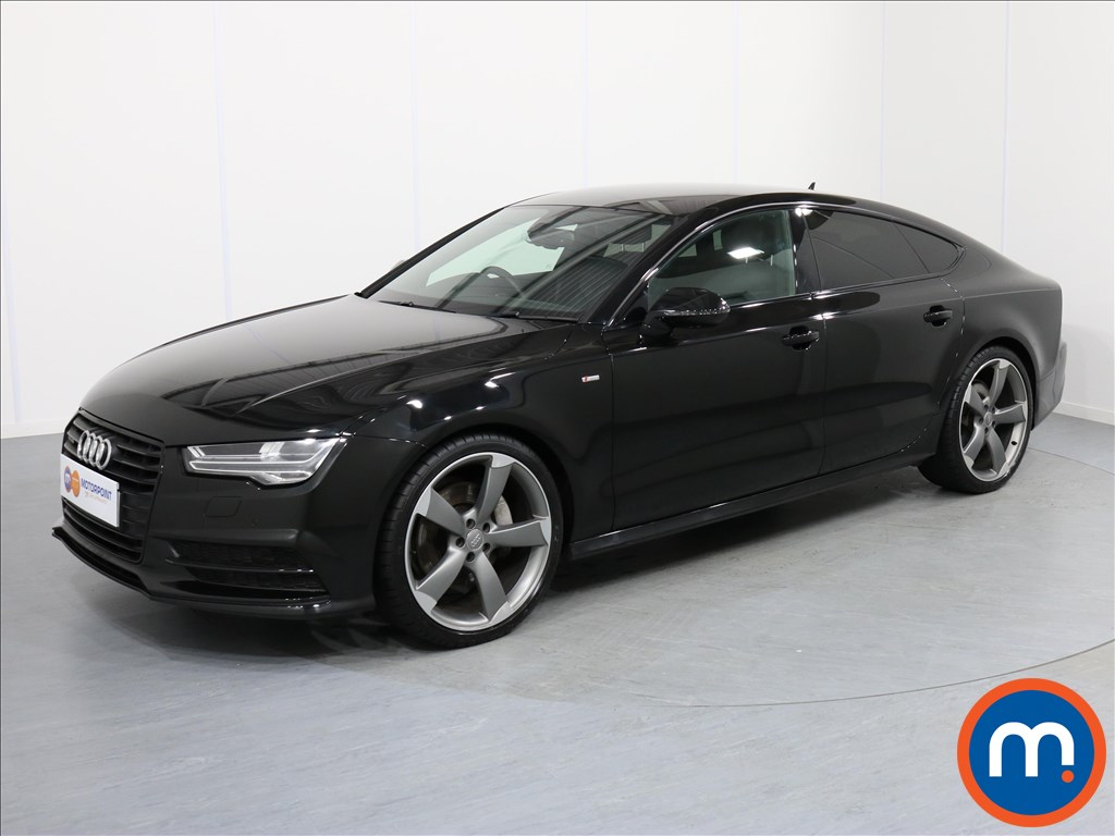 Audi A7 Black Edition - Stock Number 1057552 Passenger side front corner