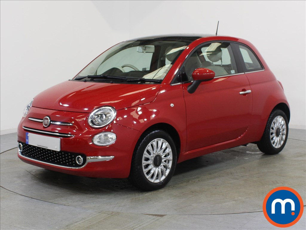 Fiat 500 Lounge - Stock Number 1057854 Passenger side front corner