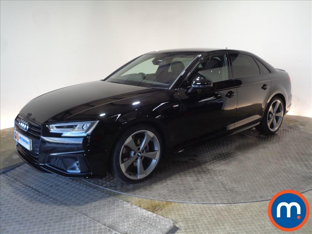 Audi A4 Black Edition - Stock Number 1056742 Passenger side front corner