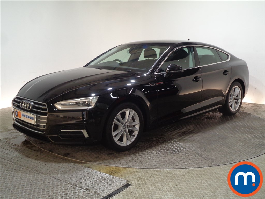 Audi A5 Sport - Stock Number 1047696 Passenger side front corner