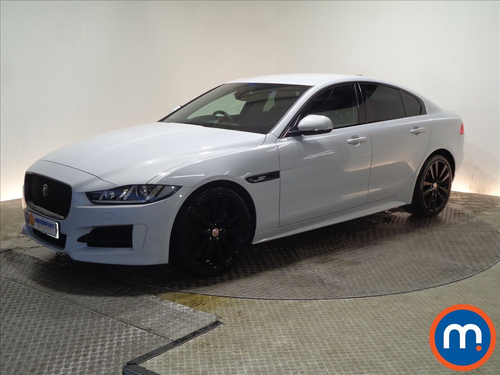 Jaguar XE R-Sport Black Edition - Stock Number 1056189 Passenger side front corner