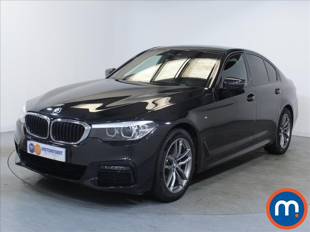 BMW 5 Series M Sport - Stock Number 1056500 Passenger side front corner