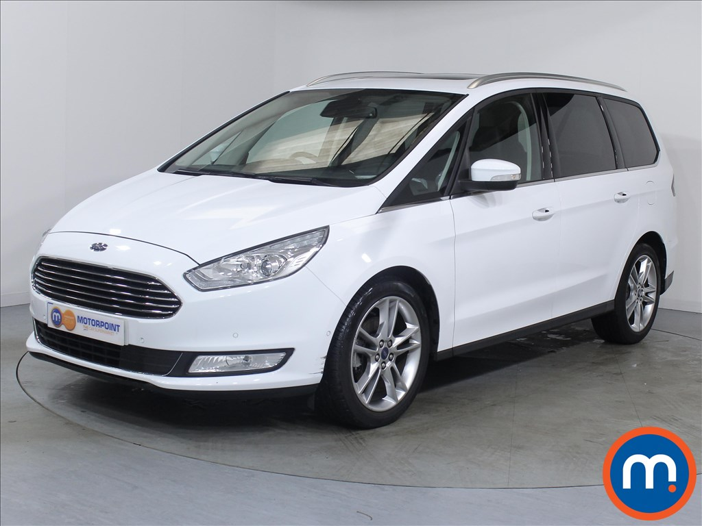 Ford Galaxy Titanium X - Stock Number 1053800 Passenger side front corner