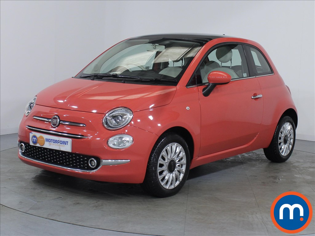 Fiat 500 Lounge - Stock Number 1057792 Passenger side front corner