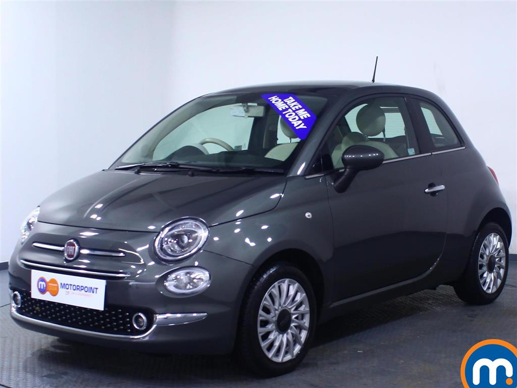 Fiat 500 Lounge - Stock Number 1059731 Passenger side front corner