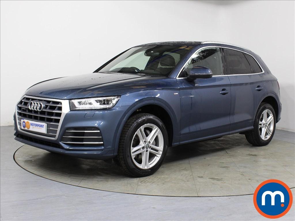 Audi Q5 S Line - Stock Number 1052161 Passenger side front corner