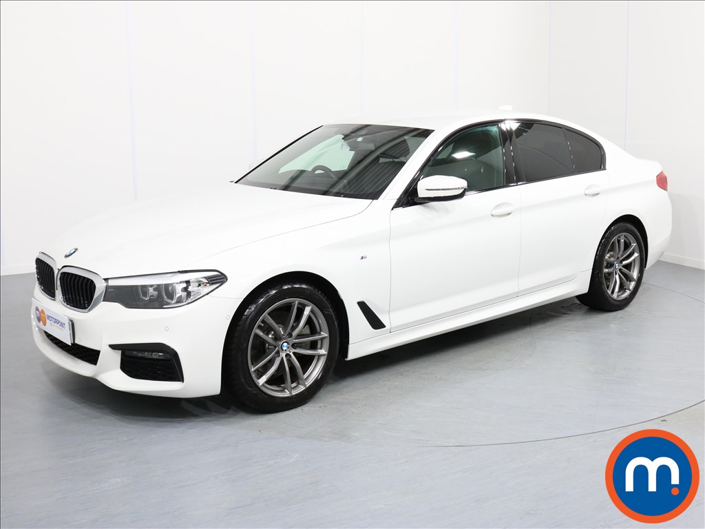 BMW 5 Series M Sport - Stock Number 1059233 Passenger side front corner