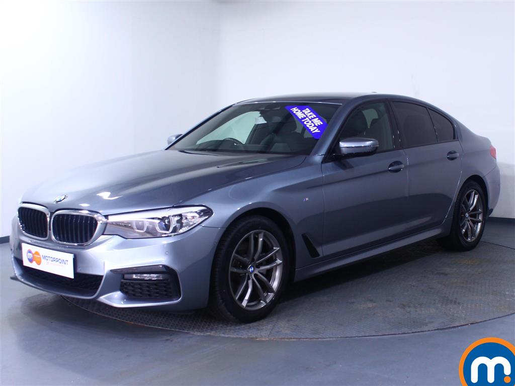 BMW 5 Series M Sport - Stock Number 1058274 Passenger side front corner