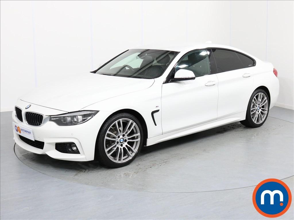 BMW 4 Series M Sport - Stock Number 1055521 Passenger side front corner