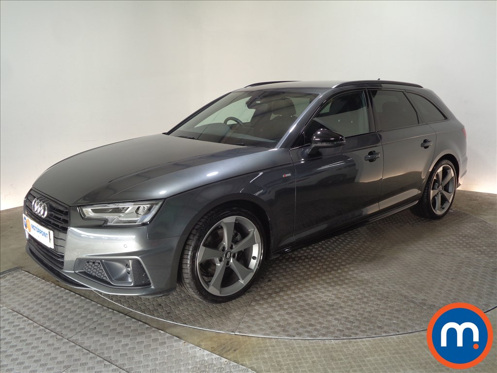 Audi A4 Black Edition - Stock Number 1056019 Passenger side front corner