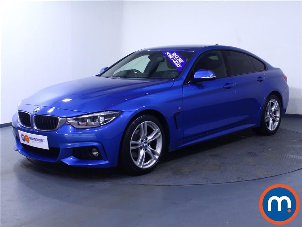 BMW 4 Series M Sport - Stock Number 1057962 Passenger side front corner