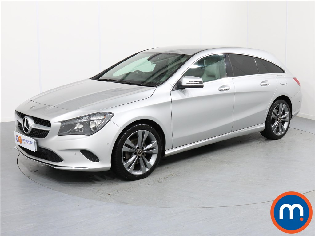 Mercedes-Benz Cla Class Sport - Stock Number 1058962 Passenger side front corner