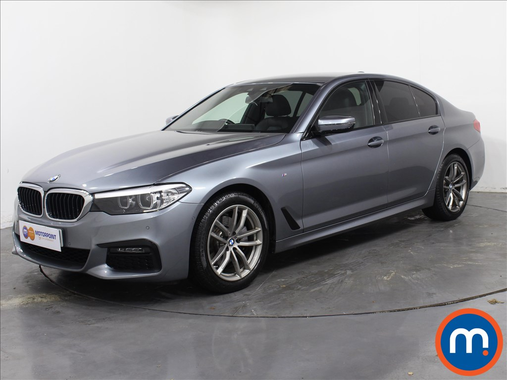 BMW 5 Series M Sport - Stock Number 1058288 Passenger side front corner