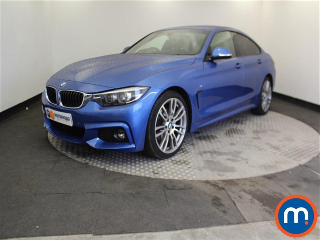 BMW 4 Series M Sport - Stock Number 1055902 Passenger side front corner