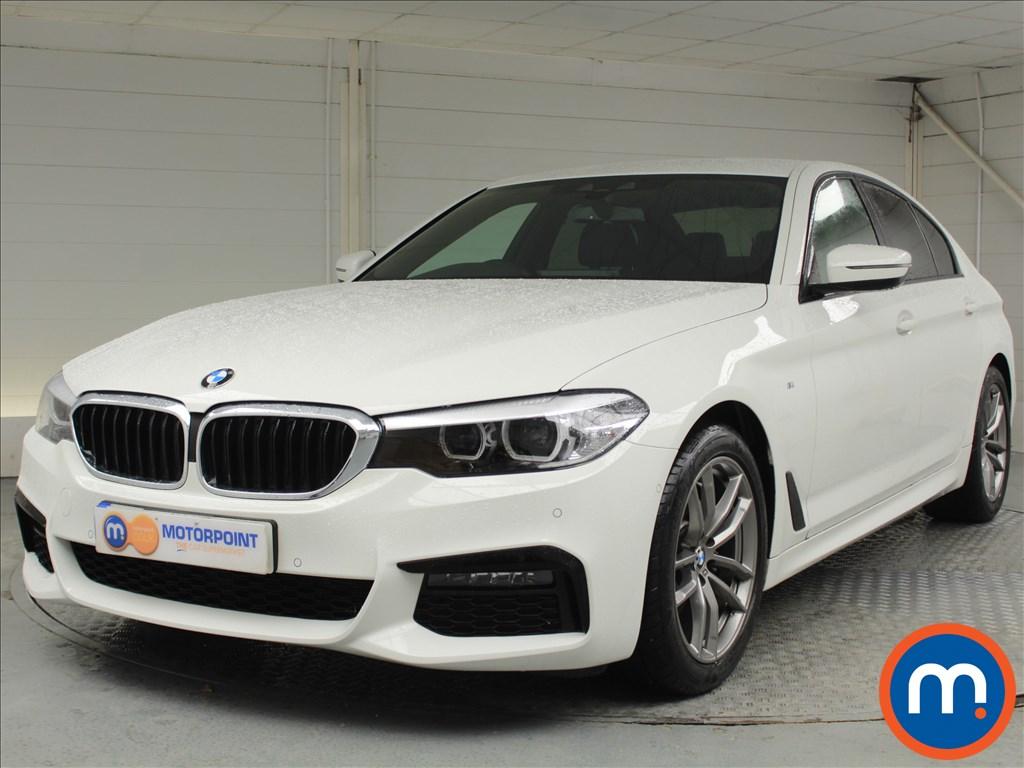 BMW 5 Series M Sport - Stock Number 1059234 Passenger side front corner