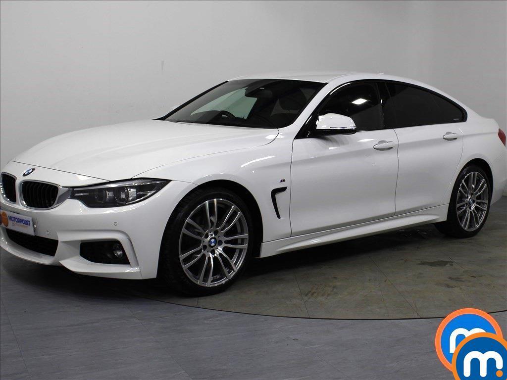 BMW 4 Series M Sport - Stock Number 1053991 Passenger side front corner