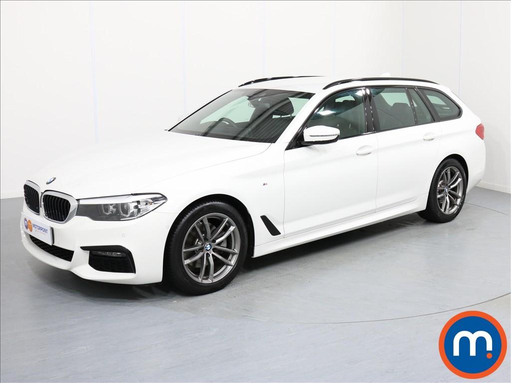 BMW 5 Series M Sport - Stock Number 1055872 Passenger side front corner