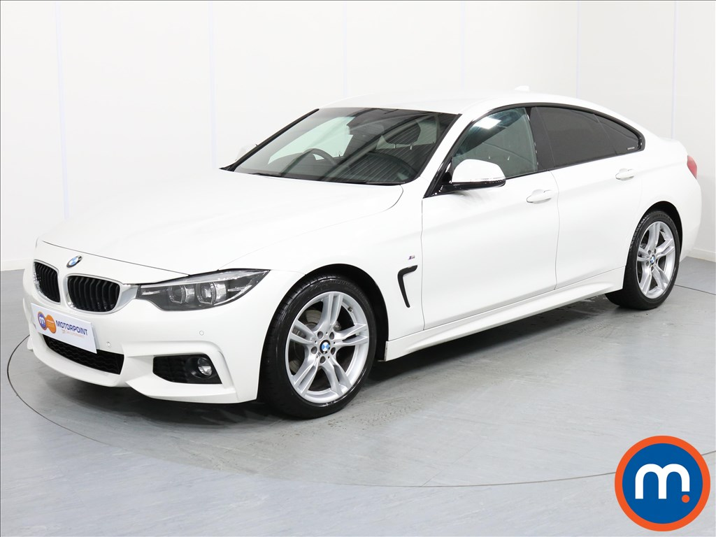 BMW 4 Series M Sport - Stock Number 1057351 Passenger side front corner
