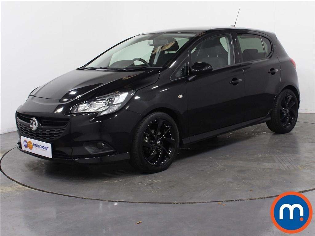 Vauxhall Corsa SRi Vx-line Nav Black - Stock Number 1059790 Passenger side front corner