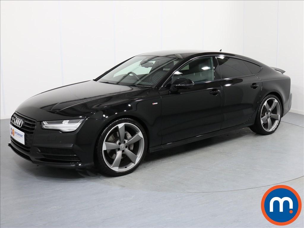 Audi A7 Black Edition - Stock Number 1058634 Passenger side front corner