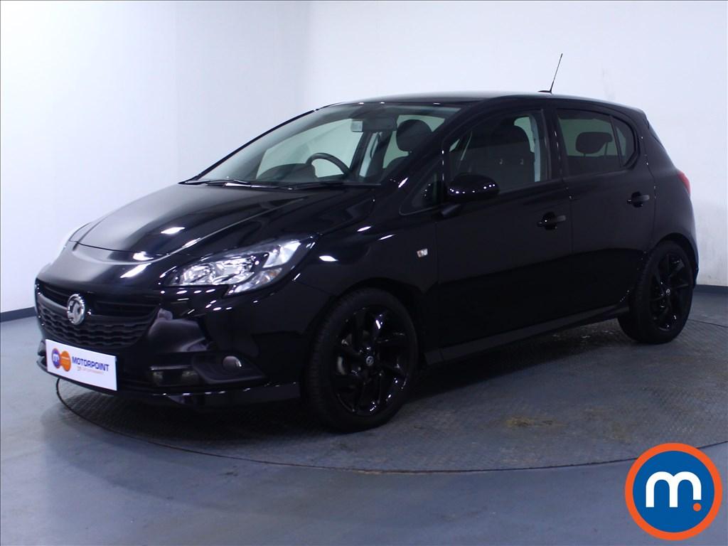 Vauxhall Corsa SRi Vx-line Nav Black - Stock Number 1059100 Passenger side front corner