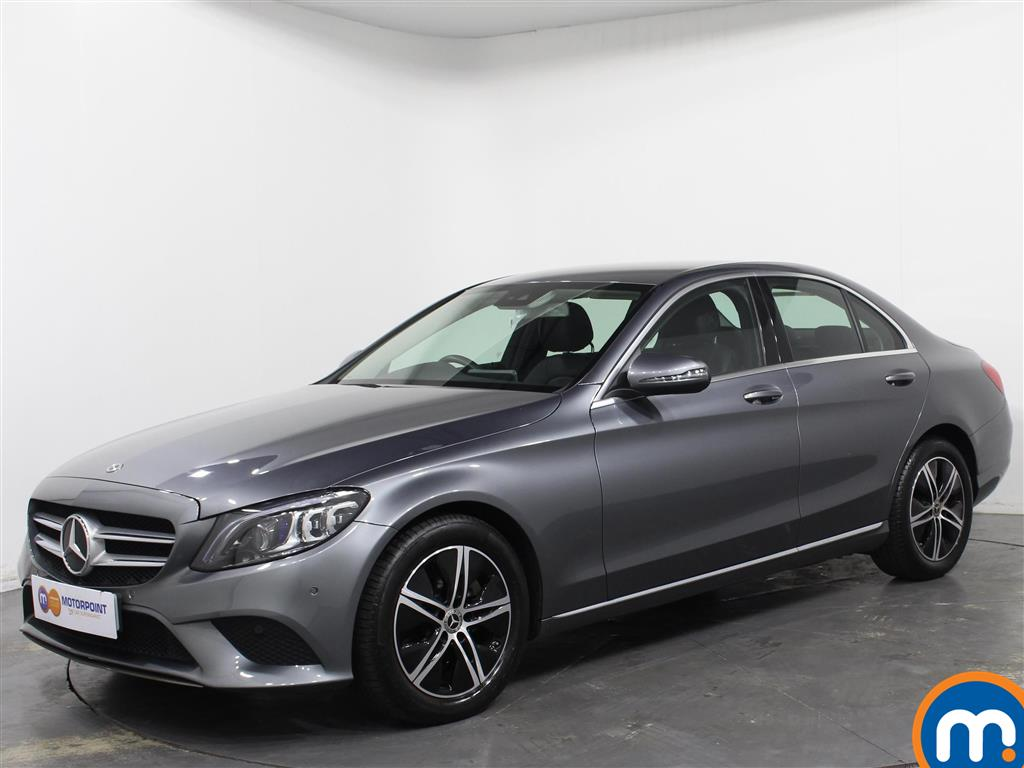 Mercedes-Benz C Class Sport - Stock Number 1057615 Passenger side front corner