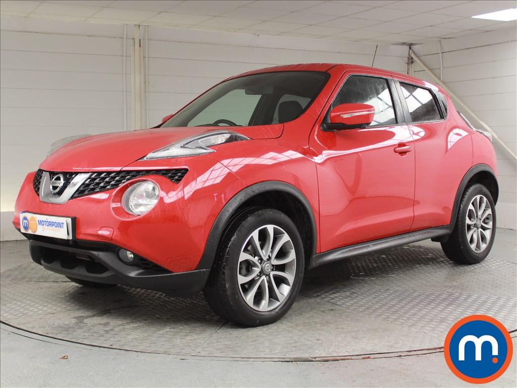Nissan Juke Tekna - Stock Number 1057186 Passenger side front corner