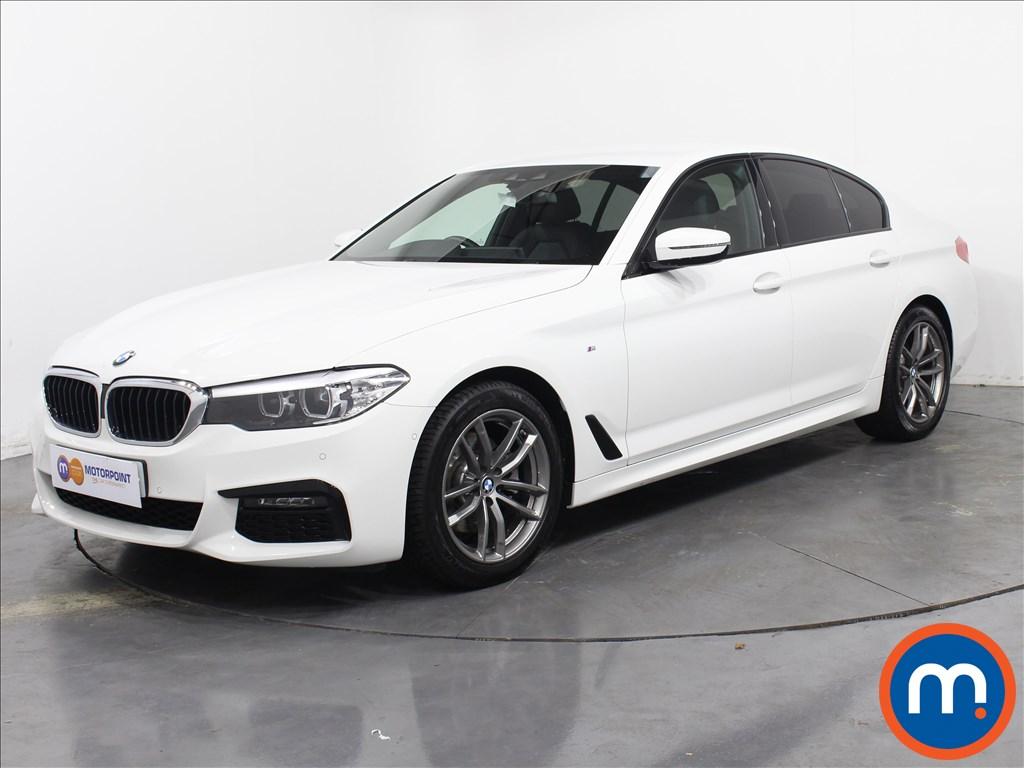 BMW 5 Series M Sport - Stock Number 1058657 Passenger side front corner