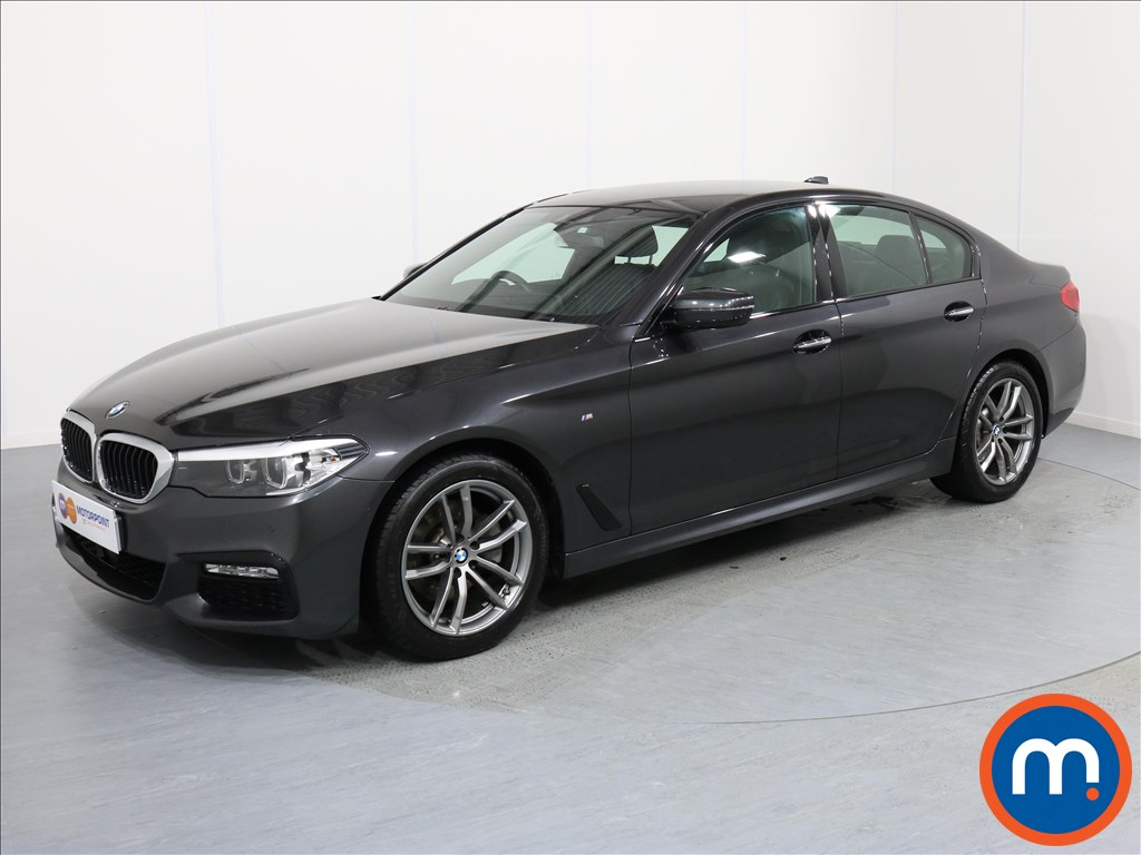 BMW 5 Series M Sport - Stock Number 1056015 Passenger side front corner