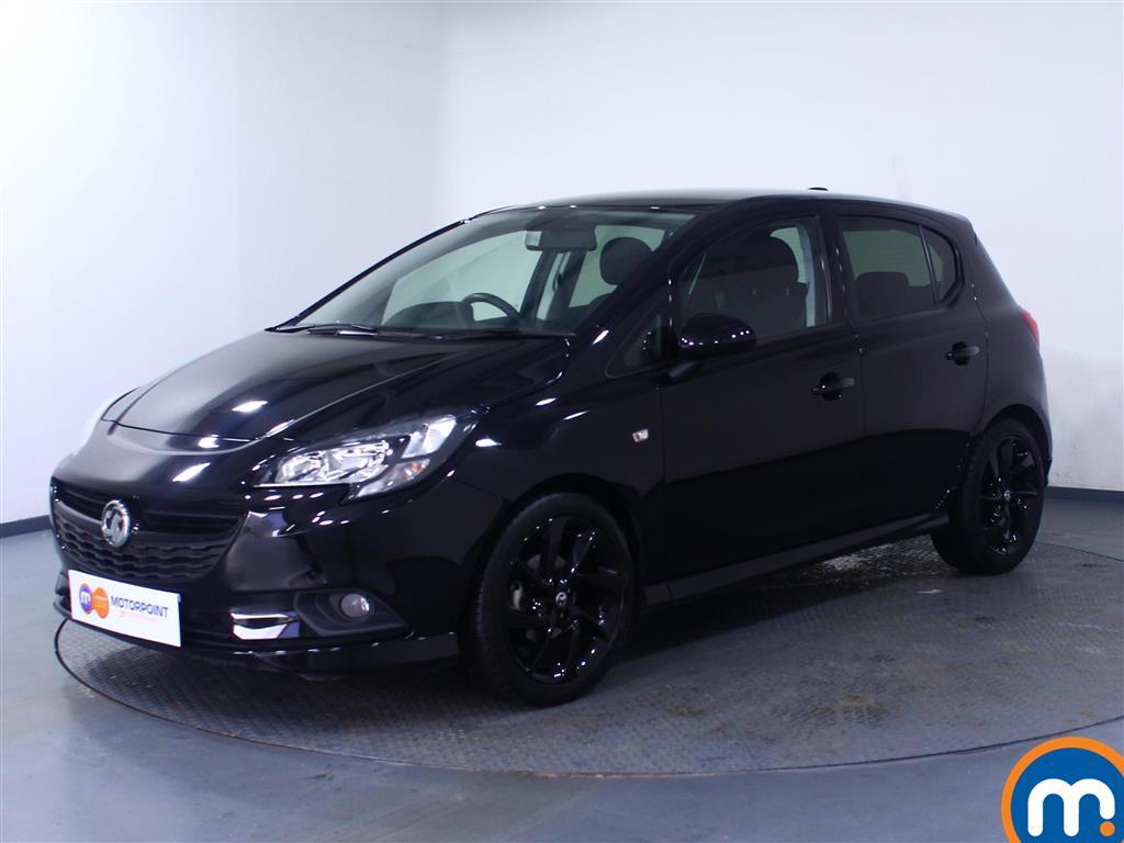 Vauxhall Corsa SRi Vx-line Nav Black - Stock Number 1059788 Passenger side front corner