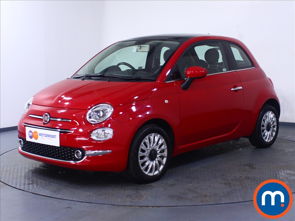 Fiat 500 Lounge - Stock Number 1057824 Passenger side front corner