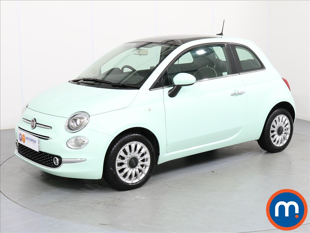 Fiat 500 Lounge - Stock Number 1057804 Passenger side front corner