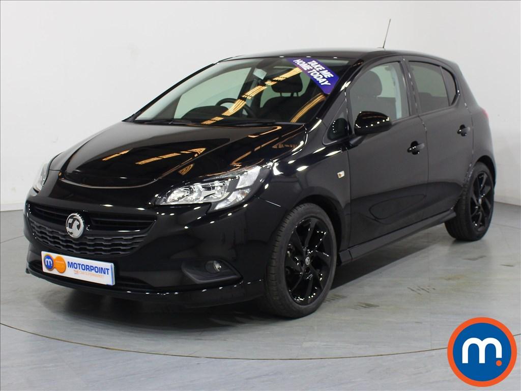 Vauxhall Corsa SRi Vx-line Nav Black - Stock Number 1059783 Passenger side front corner