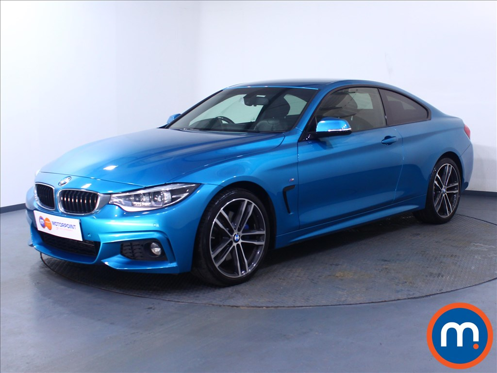 BMW 4 Series M Sport - Stock Number 1060215 Passenger side front corner