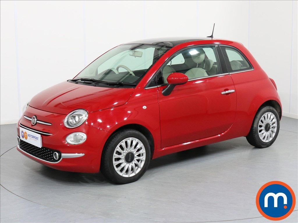 Fiat 500 Lounge - Stock Number 1057796 Passenger side front corner