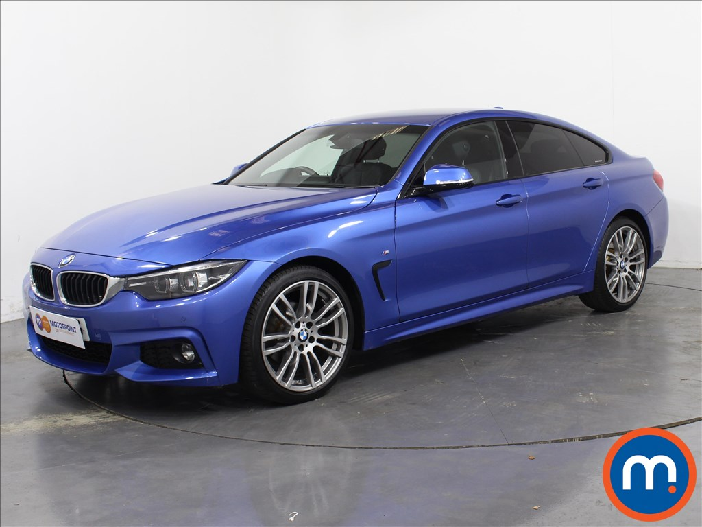 BMW 4 Series M Sport - Stock Number 1055901 Passenger side front corner