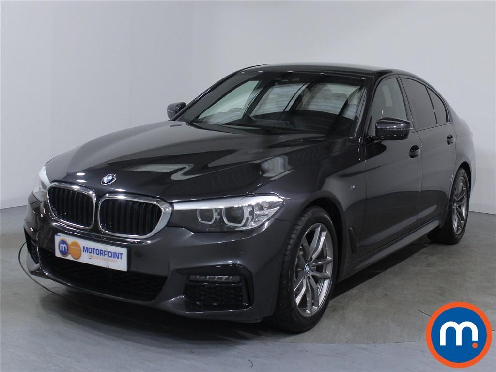 BMW 5 Series M Sport - Stock Number 1059226 Passenger side front corner