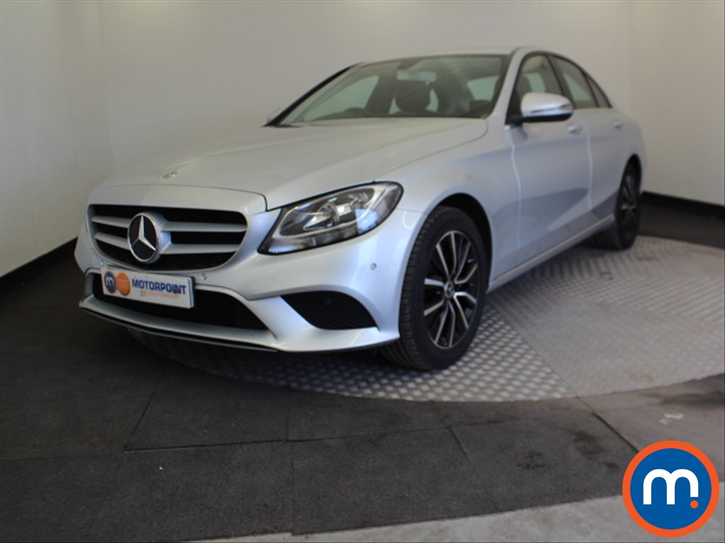 Mercedes-Benz C Class SE - Stock Number 1058338 Passenger side front corner