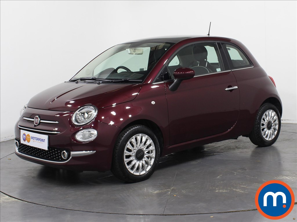 Fiat 500 Lounge - Stock Number 1060336 Passenger side front corner
