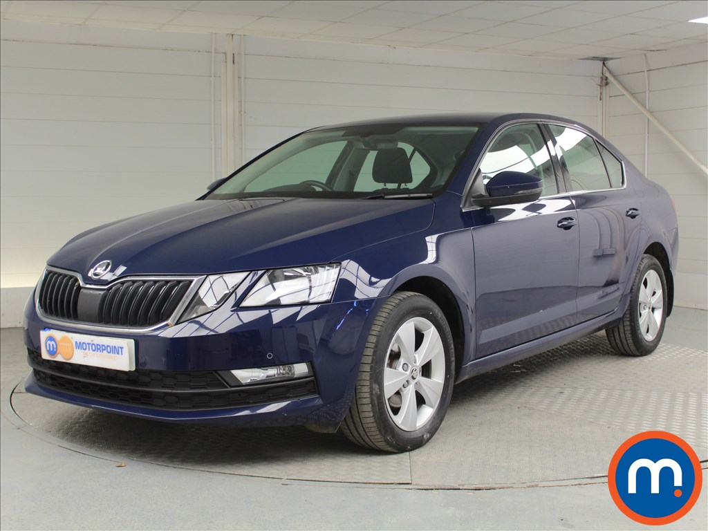 Skoda Octavia SE Technology - Stock Number 1059531 Passenger side front corner